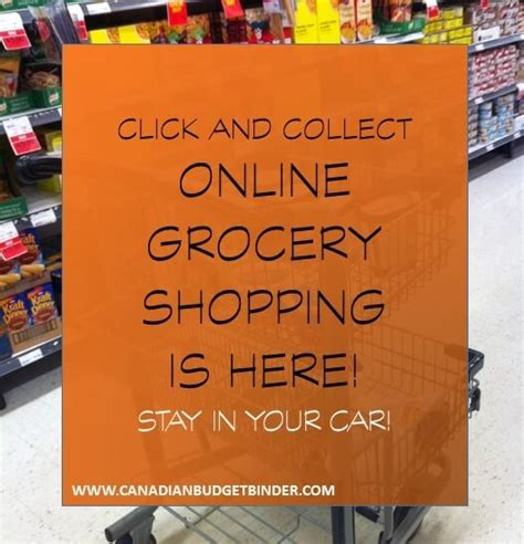click  collect  grocery shopping