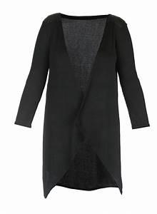 Gilet Long Noir Femme : gilet long noir pour femme ~ Voncanada.com Idées de Décoration