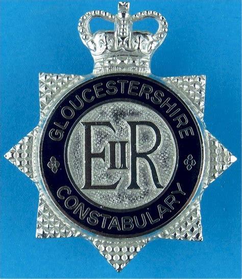 gloucestershire constabulary british police cap badges