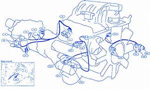 Nissan B15 2002 Engine Electrical Circuit Wiring Diagram