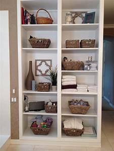 10, Tips, For, Organizing, Open, Bathroom, Shelves