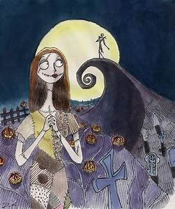 The Nightmare Before Christmas: Jack and Sally by ...