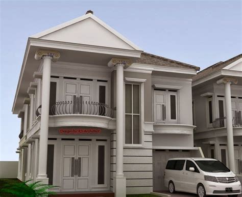 classic minimalist house design desain rumah minimalis