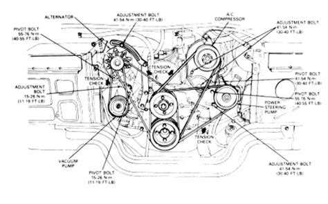 Serpentine Belt Diagram For Ford Superduty