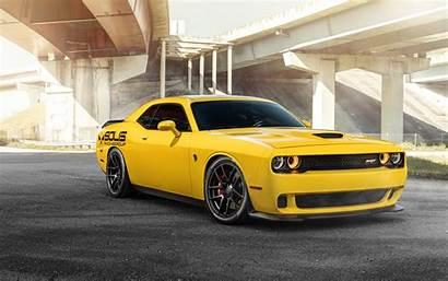 Dodge Hellcat Srt 4k Yellow 8k Wallpapers