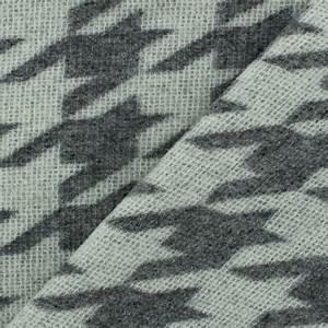Tissu Gris Chiné : tissu lainage pied de poule gris chin blanc x 10cm ~ Teatrodelosmanantiales.com Idées de Décoration