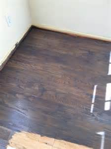 problem staining oak floor can t get it dark enough