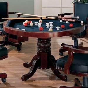Mitchell, Poker, Bumper, Pool, Game, Room, Set, Cherry, Coaster, Furniture