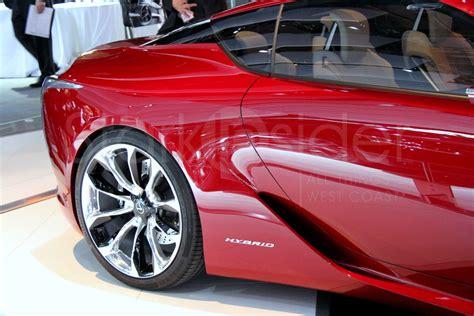lexus frs lexus lf lc hybrid supercar concept stark insider