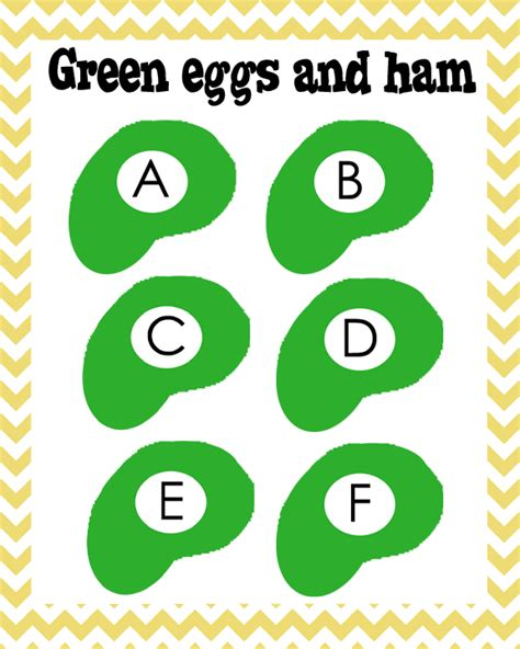 green eggs and ham abc s to go along with green eggs and 597 | 56331d0811e3782d4633e96ad7d947c6