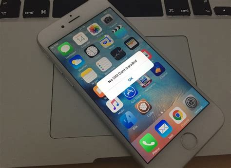 no sim iphone 5 fix no sim card installed error on iphone 6 7 6s se 5s 5