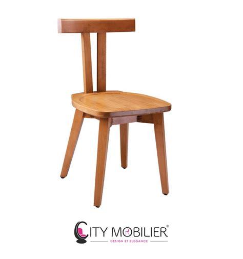chaise bois design chaise minimaliste en bois stevenson city mobilier