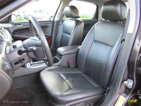 ebony black interior  chevrolet impala ltz photo