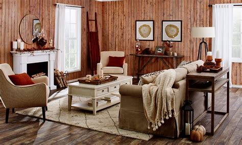 This Rustic Fall Living Room Is What You Need This Year