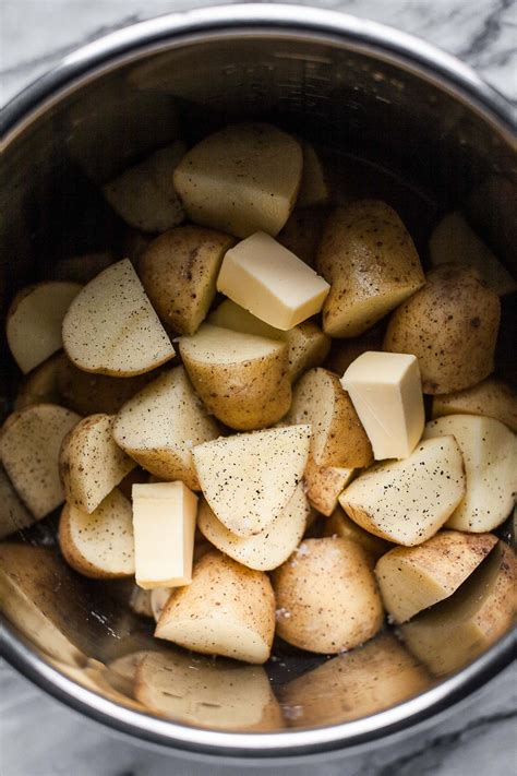 instant pot potatoes easy instant pot mashed potatoes a calculated whisk