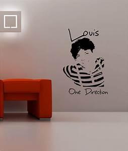 Louis tomlinson one direction wall art sticker vinyl
