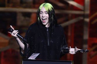 Brit Awards 2020: Billie Eilish performs new James Bond ...