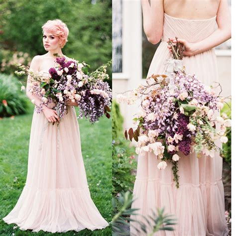 blush colored plus size dresses blush pink wedding dresses plus size not so formal