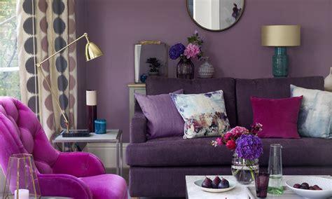 Purple Living Room Ideas