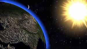 Solar System Animation  3d Animation Earth Moon And Sun