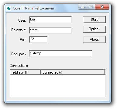 core ftp server sftp server heise