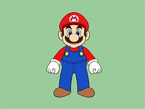 5 Ways to Draw Mario Characters - wikiHow