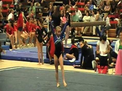 gymnastics level 2 floor routine youtube