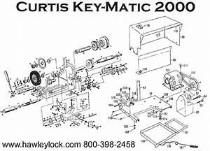 Hawley Lock Supply  Curtis 2000  U0026 3000 Key Machine Parts