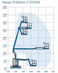 Genie Z30  20n - Wysoko U015b U0107 Podnoszenia 9 14 M
