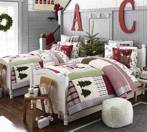 lovely christmas decorating ideas  kids bedroom