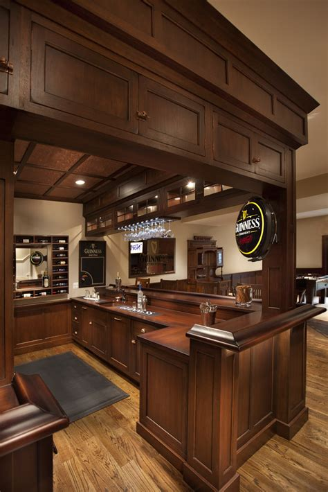 Custom Wood Bar Countertops In A Kitchen Designed By