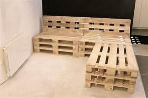 Tuto un canape dangle en palettes salons pallets and for Canapé angle palette