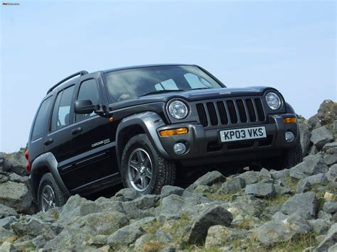 cherokee jeep 2003 2003 jeep cherokee kj pictures information and specs