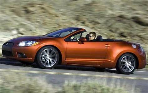 mitsubishi eclipse spyder convertible pricing