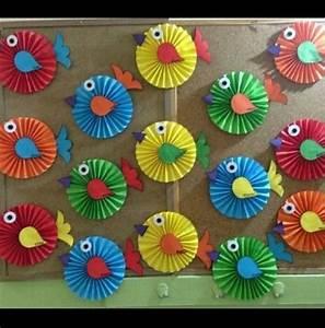 Basteln Sommer Kinder : uccellini idee scuola pinterest fr hling basteln mit kindern und schule ~ Markanthonyermac.com Haus und Dekorationen