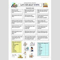 Let´s Talk About Work Worksheet  Free Esl Printable Worksheets Made By Teachers