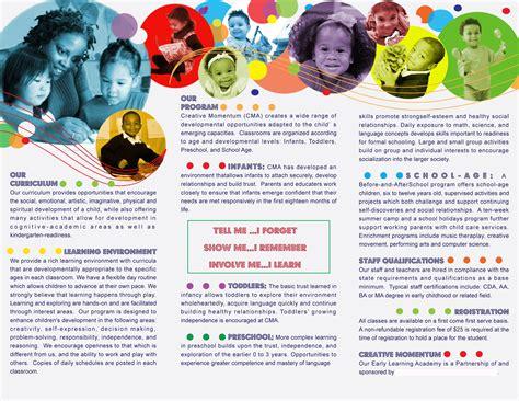 inside preschool brochure created by newsuan designs 871 | e77d95c53a1fedf78b2de2101953b38c