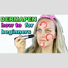 Dermapen How To Use It ???? For Beginners Youtube
