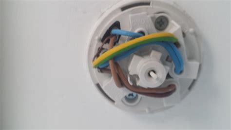 Help Identify Pull Cord Ceiling Rose Bathroom Attached