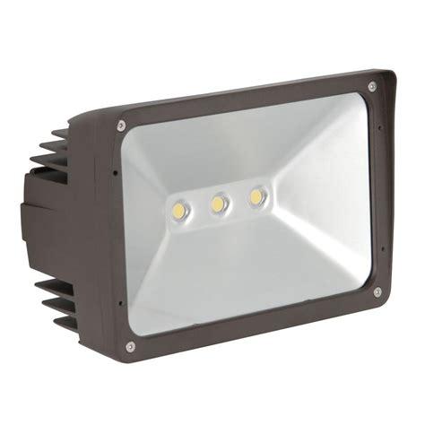 home depot flood lights luminance adl lumin 50 watt bronze outdoor led flood light