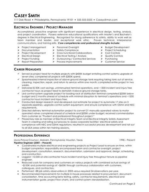 engineer resume template  httpwwwjobresume