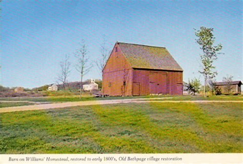 Barn On Williams' Homestead, Long Island, New York