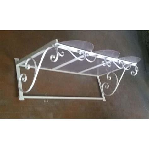 tettoia pensilina pensilina tettoia acciaio inox ferro battuto