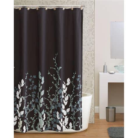 mainstays butterfly fabric shower curtain walmart