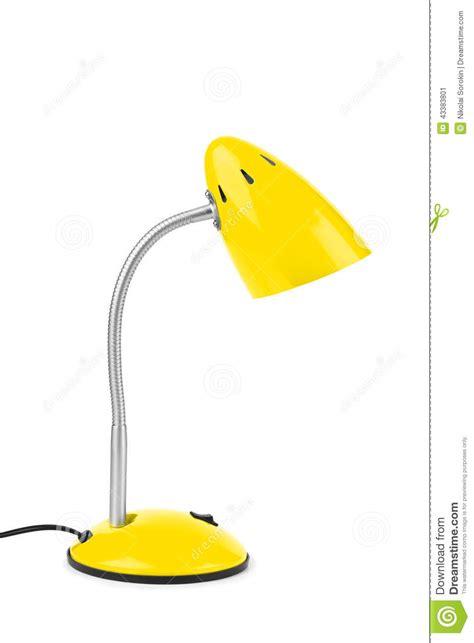 le bureau jaune le de bureau jaune image stock image du imagination