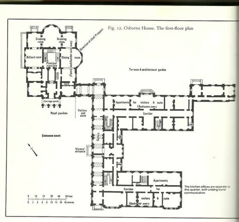 floor plan  osborne house osborne house pinterest