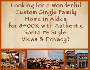 Wonderful Custom Single Family Home in Aldea for $400K ...