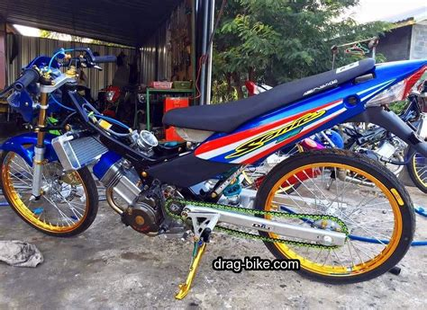 Vixion Thailook Style by 40 Foto Gambar Modifikasi Motor Sonic Racing