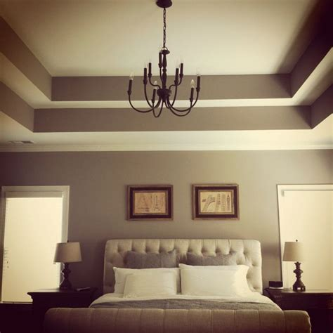 Tray Ceilings Paint Ideas - tray ceiling add crown moulding to really make it