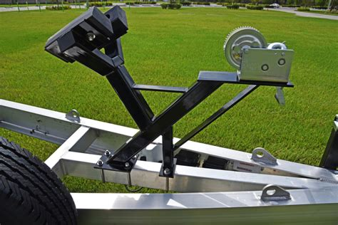 Boat Trailer Y Stop by Evolution Trailer Technologies Inc Standard Features